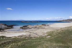 The Small Isles from Coll